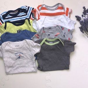 8 bodysuits newborn